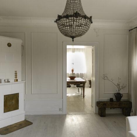 Måttsydda gardiner skapar hotellkänsla